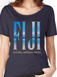 FIJI WATER Women's Relaxed Fit T-Shirt