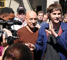 Jim Sturgess and Ben Kingsley  by DaveVaughan