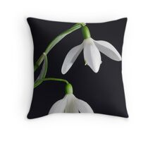 Two Pure Throw Pillow