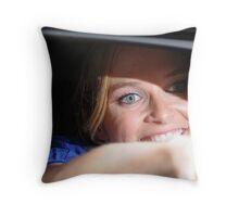 Rachel Blanchard Throw Pillow