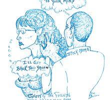 OBAMA PALIN MIND MELD by Dodsonsth