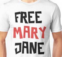 Free Mary Jane Legalize  Unisex T-Shirt