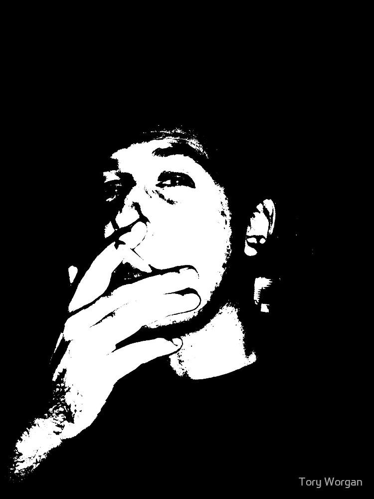 Smoking Vincent by toryworgan