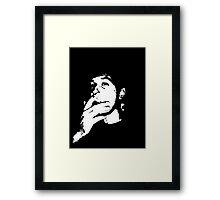 Smoking Vincent Framed Print