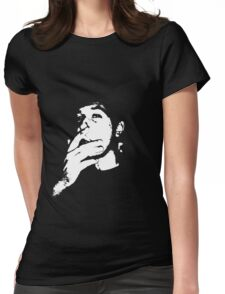 Smoking Vincent Womens Fitted T-Shirt