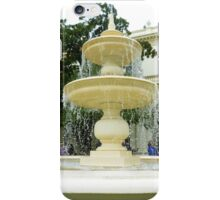 *Fountain - Outside Entertainment Area - Government House Vic.* iPhone Case/Skin