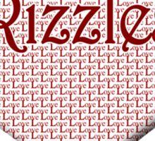 Rizzles Happy Valentines Day Sticker
