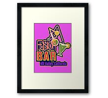 Fusion Bar Hill Valley Framed Print
