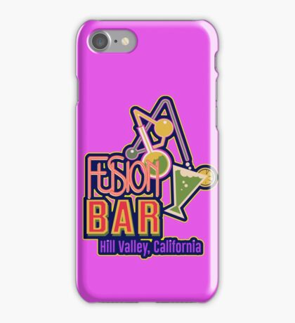 Fusion Bar Hill Valley iPhone Case/Skin