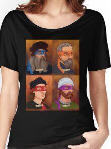 The Renaissance Ninja Artists Women's Relaxed Fit T-Shirt
