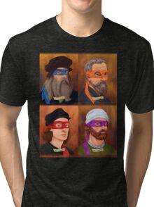 The Renaissance Ninja Artists Tri-blend T-Shirt