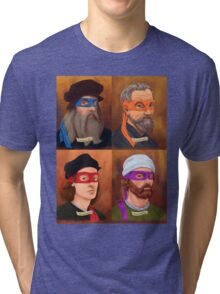 The Renaissance Ninja Artists Tri-blend T-Shirt