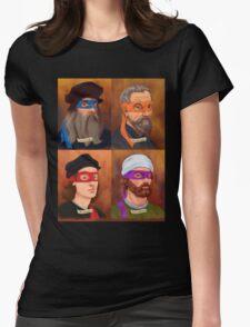 The Renaissance Ninja Artists Womens Fitted T-Shirt