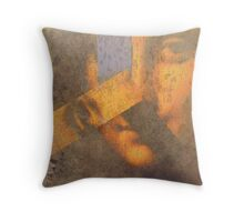 The Persistence of Art Throw Pillow