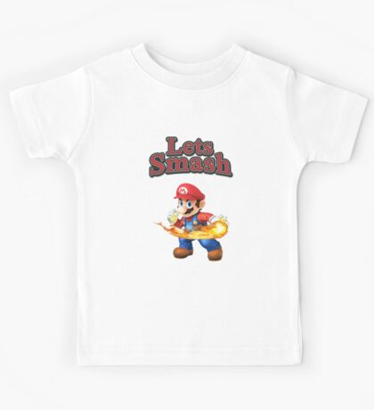 Mario Smash Bros Kids Tee