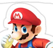 Mario Smash Bros Sticker