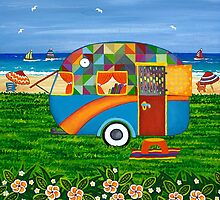 Caravan Holiday ~ Bobby-Ray by Lisafrancesjudd