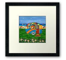 Caravan Holiday ~ Bobby-Ray Framed Print