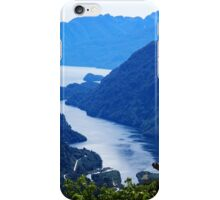 Doubtful Sound from Wilmot Pass iPhone Case/Skin