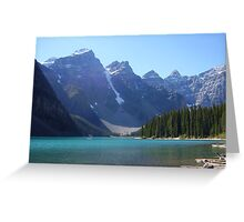 Maligne Lake, Canada Greeting Card
