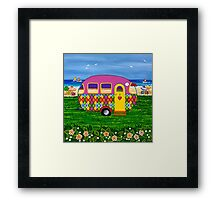 Caravan Holiday ~ Mary-Sue Framed Print