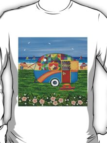Caravan Holiday ~ Bobby-Ray T-Shirt