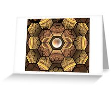 Cracking the Bee Hive Greeting Card
