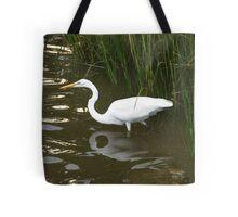 Egret Wonder Tote Bag