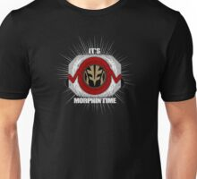 Its Morphin Time (White) Unisex T-Shirt