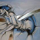 Blue Bilal style by Mylène Eclache