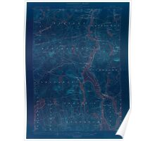Maine USGS Historical Map Bucksport 306498 1900 62500 Inversion Poster