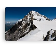 Mountaintop of Mönch Canvas Print