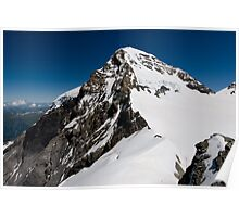 Mountaintop of Mönch Poster