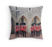 Ceremonial Guards Throw Pillow