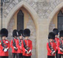 Ceremonial Guards Sticker