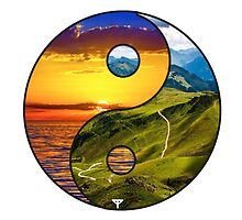 Yin Yang The nature is in balance by TYuceDesign