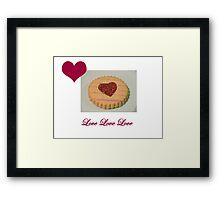 Love Biscuit Framed Print
