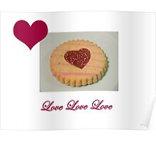 Love Biscuit Poster