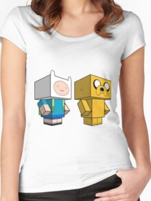 AdventureCraft Women's Fitted Scoop T-Shirt
