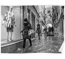 Walking through the flooded streets of Venice (2015) Poster