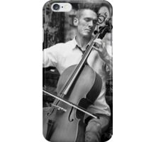 A Man and His Instrument iPhone Case/Skin