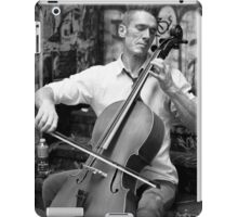 A Man and His Instrument iPad Case/Skin