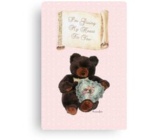 This One's for You~ Baby Bear Canvas Print