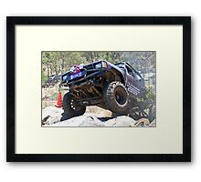 Tough Tracks Round 3 2008 Framed Print