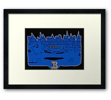 Electronic Fish Framed Print