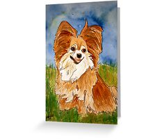 chihuahua 2 Greeting Card