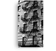 New York Apartments Canvas Print