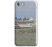The Cruise Ship Norwegian Gem On The Hudson River iPhone Case/Skin
