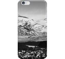 Drumochter - Retreating Snows iPhone Case/Skin