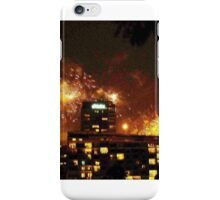New year Fireworks in Melbourne, Australia iPhone Case/Skin